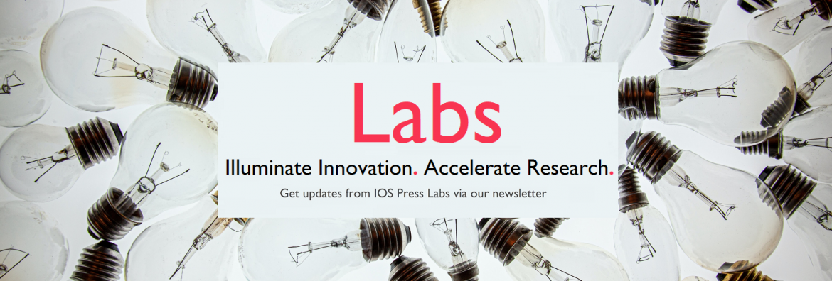 Labs written in pink on a background of non-illuminated light bulbs